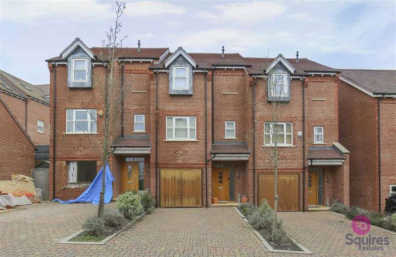 3 Bedrooms Terraced House for sale in Wilkes Close, Mill Hill, London, NW7