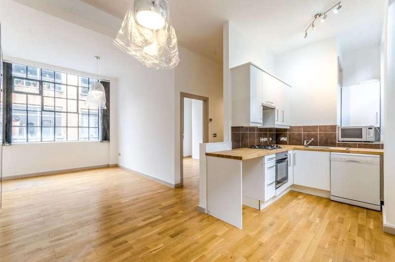 1 Bedroom Flat for sale in Domingo Street, Clerkenwell, EC1Y