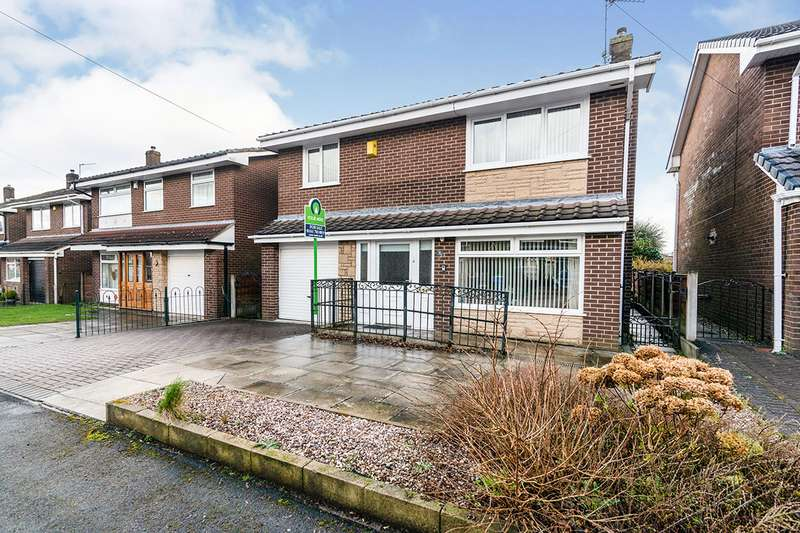 4 Bedrooms Detached House for sale in Roxby Close, Worsley, Manchester, Greater Manchester, M28
