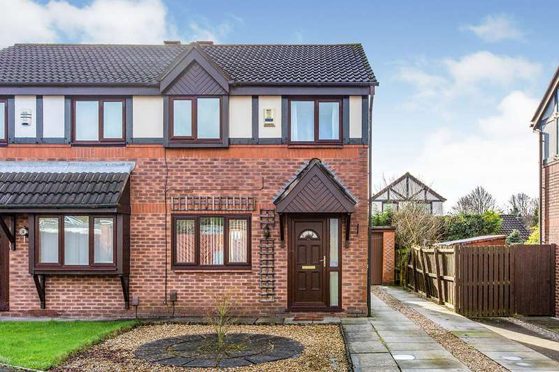 3 Bedrooms Semi Detached House for sale in College Court, Preston, Lancashire, PR1