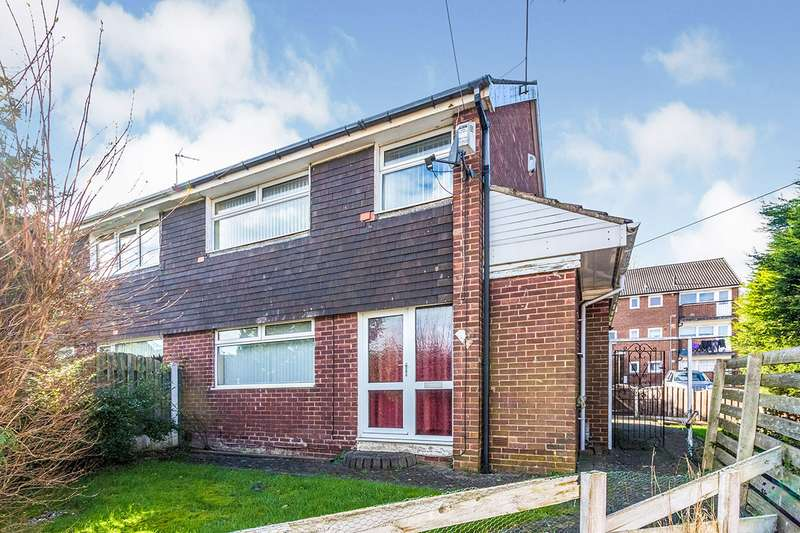 3 Bedrooms Semi Detached House for sale in Barkers Croft, Wingfield, Rotherham, South Yorkshire, S61
