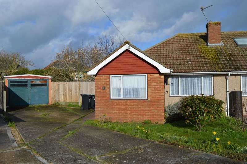 2 Bedrooms Semi Detached Bungalow for sale in Kingfisher Close, Margate, CT9