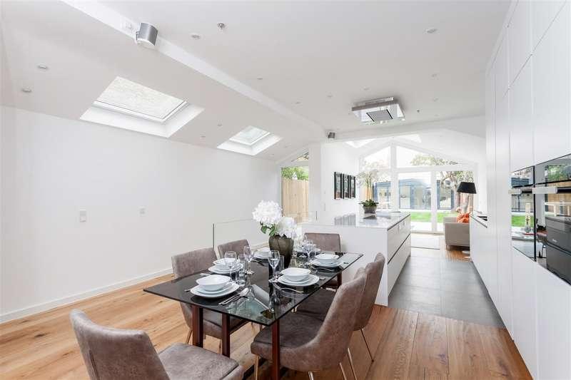 5 Bedrooms Semi Detached House for sale in Alwyn Avenue, Chiswick, W4