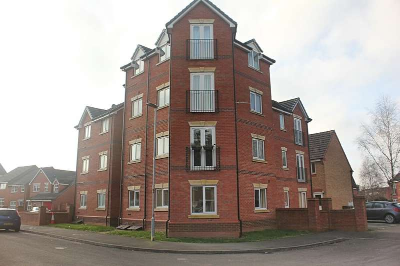 1 Bedroom Flat for sale in Pickering Close, Stoney Stanton, Leicester