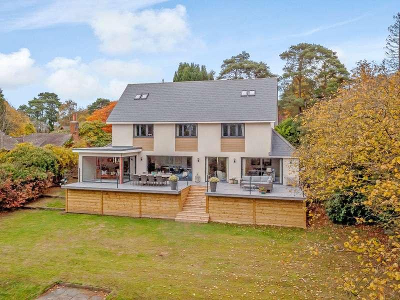 5 Bedrooms Detached House for sale in Linkside West, Hindhead, Surrey, GU26