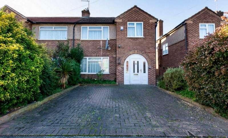 3 Bedrooms Semi Detached House for sale in Central Avenue, Waltham Cross, Herts, EN8