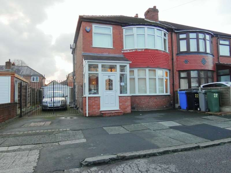 3 Bedrooms Semi Detached House for sale in Royston Road, Manchester, Greater Manchester, M16