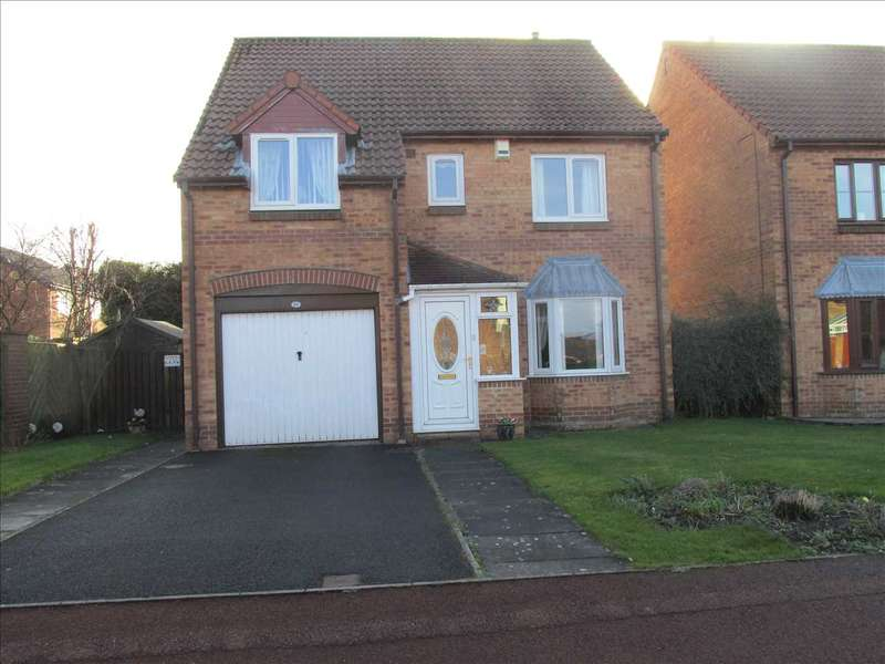 4 Bedrooms Detached House for sale in Milburn Drive, Newcastle upon Tyne