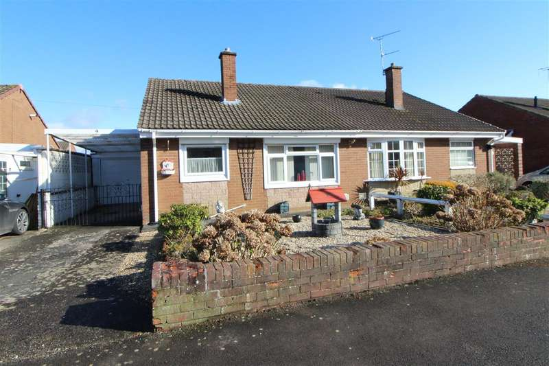 2 Bedrooms Semi Detached Bungalow for sale in Cobb Crescent, Caldicot