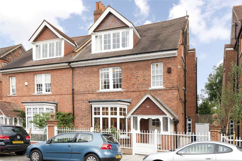 2 Bedrooms Flat for sale in Marlborough Crescent, Chiswick, London, W4