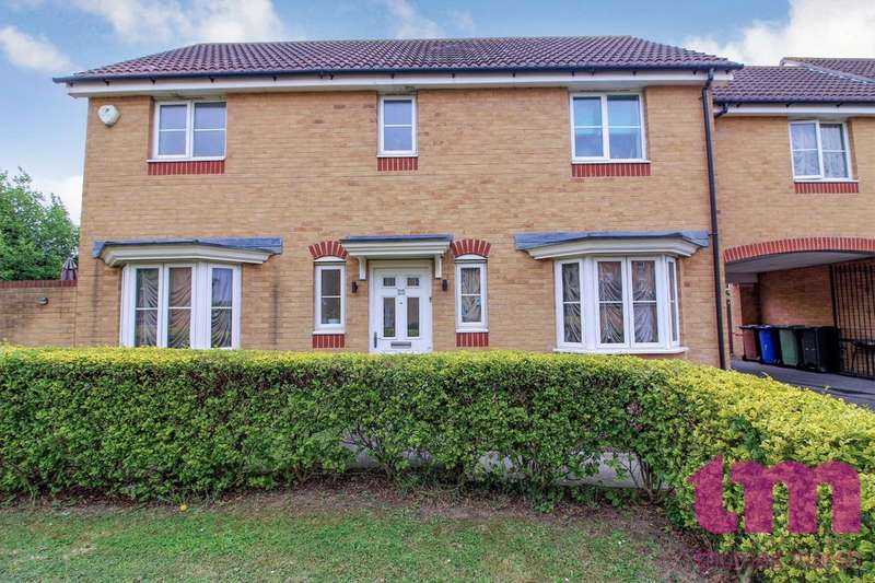 4 Bedrooms Semi Detached House for sale in Brandon Close, Chafford Hundred