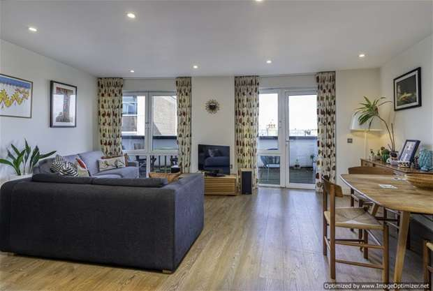 2 Bedrooms Flat for sale in Chaplin Apartments, Hackney, E8