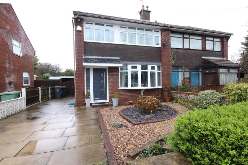 3 Bedrooms Semi Detached House for sale in Milldale Road, Leigh, WN7 3PP