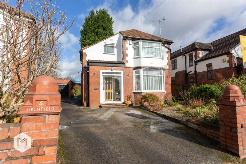 4 Bedrooms Detached House for sale in Links Crescent, Prestwich, Manchester, Greater Manchester, M25