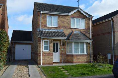3 Bedrooms Detached House for sale in Lady Meers, Cherry Willingham, Lincoln, Lincolnshire