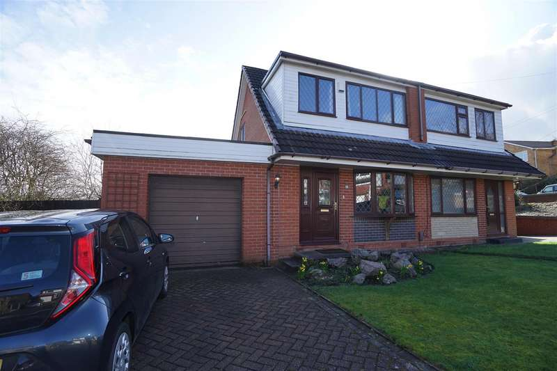 3 Bedrooms Semi Detached House for sale in Fryent Close, Blackrod, Bolton
