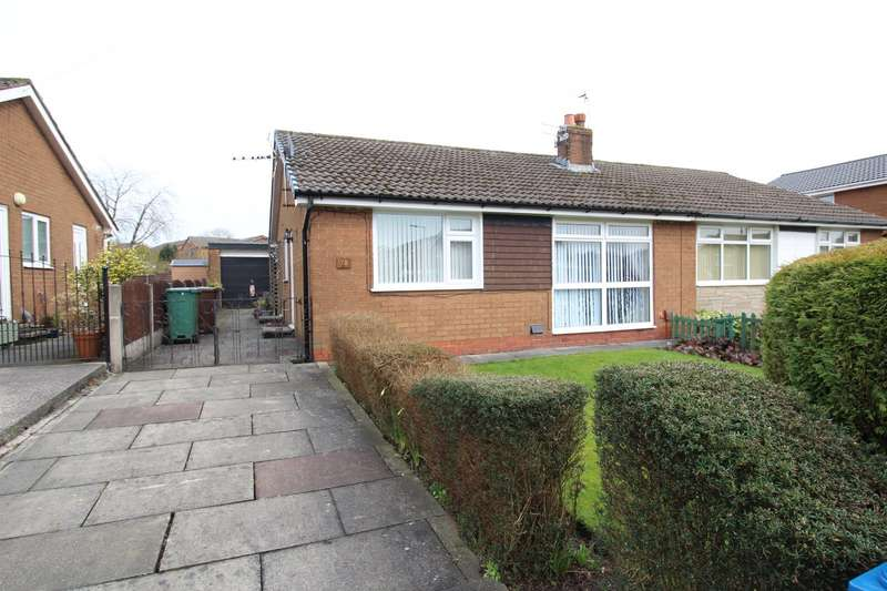 2 Bedrooms Semi Detached Bungalow for sale in Harper Fold Road, Radcliffe, Manchester, Greater Manchester, M26