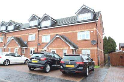 3 Bedrooms End Of Terrace House for sale in Dunlop Avenue, Barrhead