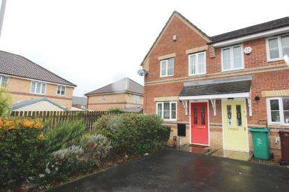 2 Bedrooms End Of Terrace House for sale in Harry Rowley Close, Wythenshawe, Manchester, .