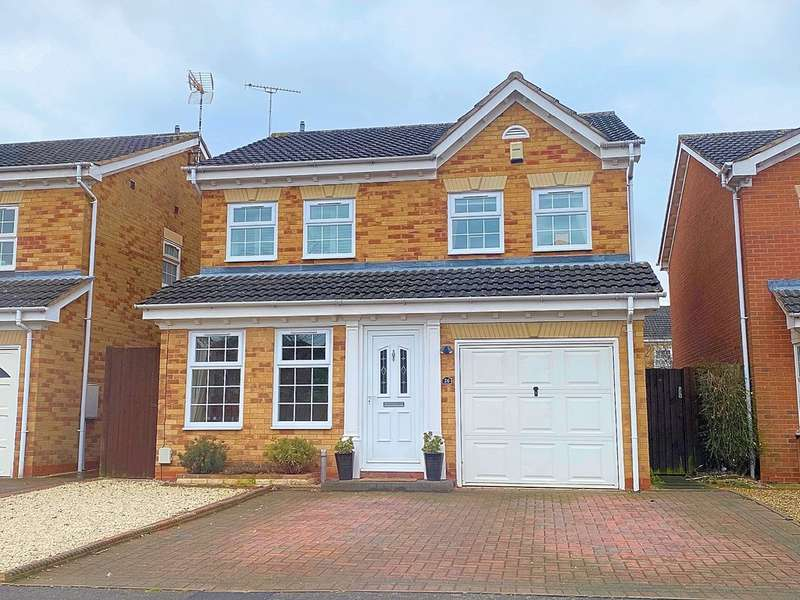 4 Bedrooms Detached House for sale in Wheatlands Drive, Countesthorpe
