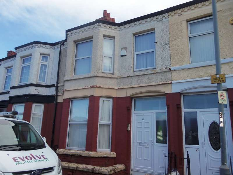 3 Bedrooms Terraced House for sale in Church Road, Old Swan L13