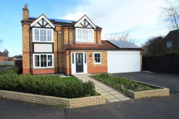 4 Bedrooms Detached House for sale in Magellan Way, Spalding