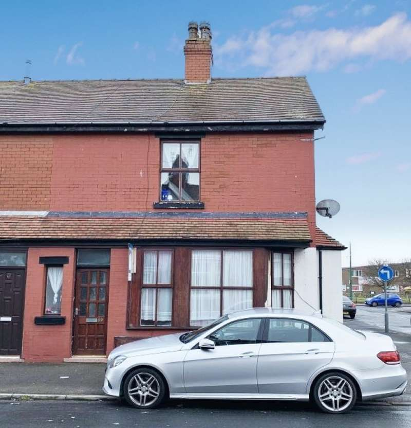 2 Bedrooms End Of Terrace House for sale in Addison Road, Fleetwood, Lancashire, FY7 6UA