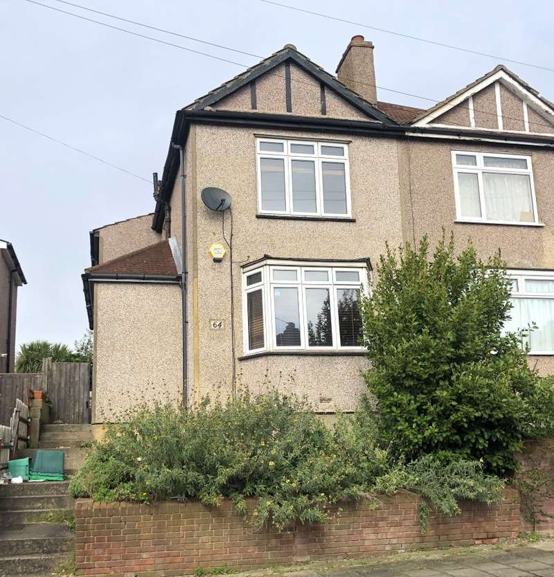 3 Bedrooms Semi Detached House for sale in Kynaston Road, Bromley, Kent, BR1 5AW