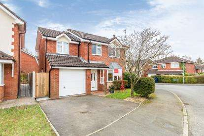 4 Bedrooms Detached House for sale in Springwood Close, Walton-Le-Dale, Preston, Lancashire
