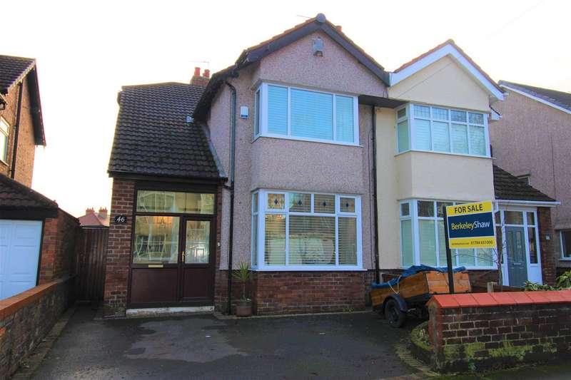 4 Bedrooms Semi Detached House for sale in De Villiers Avenue, Crosby, Liverpool
