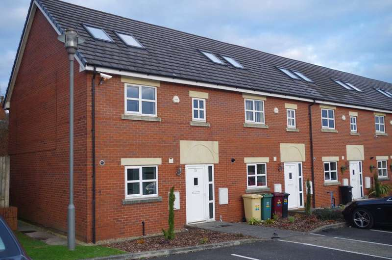4 Bedrooms Town House for sale in St Catherines Court, Horwich