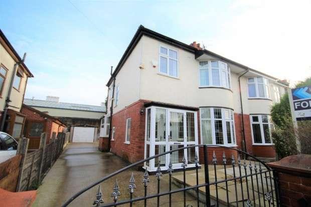 3 Bedrooms Semi Detached House for sale in Duchy Avenue, Preston, PR2