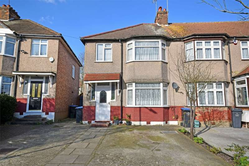 3 Bedrooms End Of Terrace House for sale in Deanscroft Avenue, Kingsbury