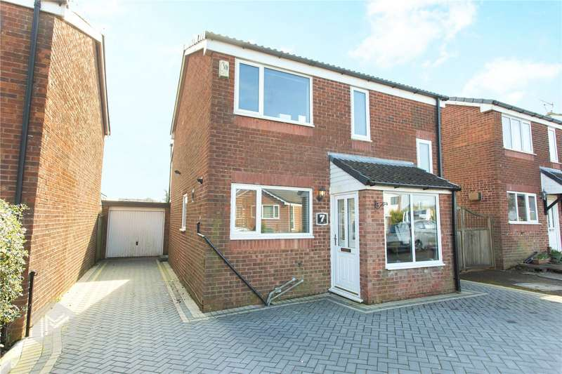 3 Bedrooms Detached House for sale in Lymbridge Drive, Blackrod, Bolton, BL6