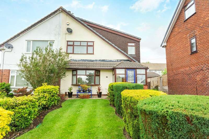 3 Bedrooms Semi Detached House for sale in Gellert Road, Westhoughton, Bolton, Greater Manchester, BL5