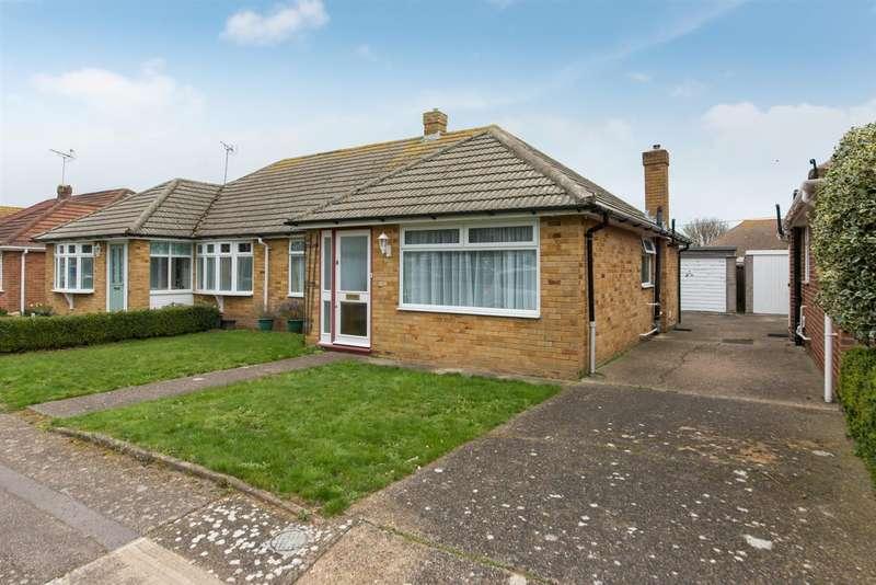 2 Bedrooms Semi Detached Bungalow for sale in Nottingham Road, Birchington
