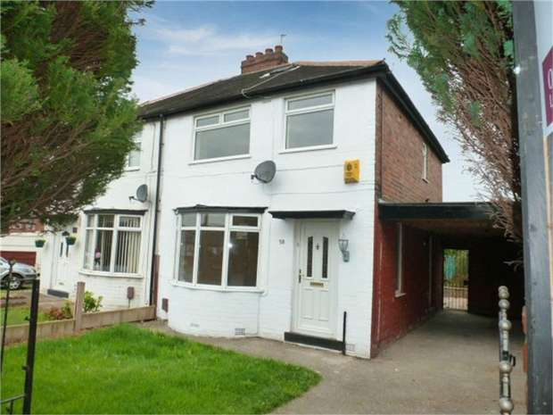 3 Bedrooms Semi Detached House for sale in Ferry Road, Irlam, Manchester