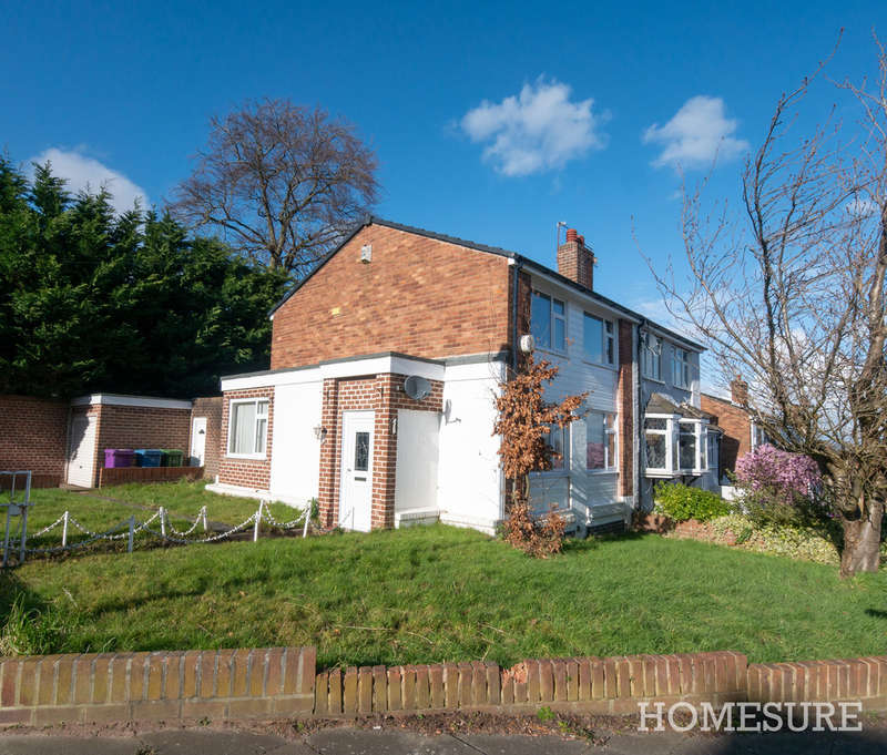 2 Bedrooms Semi Detached House for sale in Grangemeadow Road, Gateacre, Liverpool L25
