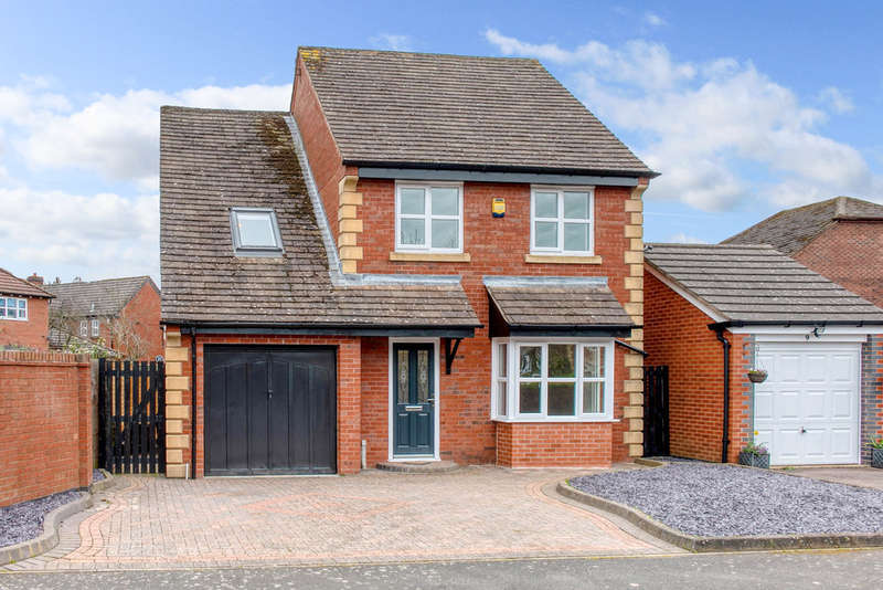 4 Bedrooms Detached House for sale in Abbeyfields Drive, Studley, B80 7BF
