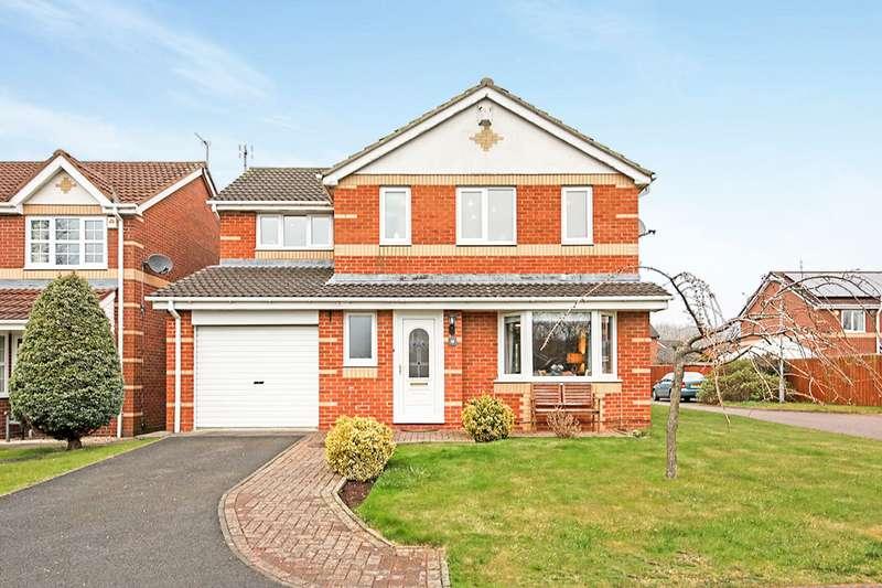 4 Bedrooms Detached House for sale in Dearham Grove, Cramlington, NE23