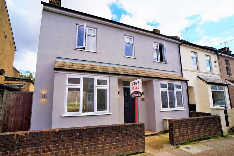 2 Bedrooms End Of Terrace House for sale in Springhead Road, Northfleet, Gravesend, Kent, DA11