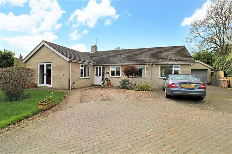4 Bedrooms Bungalow for sale in Lime Tree Avenue, Metheringham, Lincoln