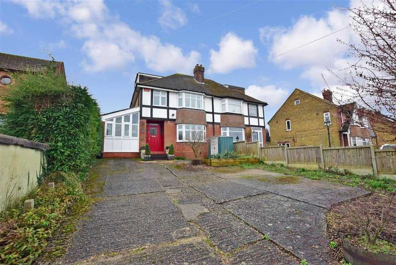 4 Bedrooms Semi Detached House for sale in Ashford Road, , Canterbury, Kent