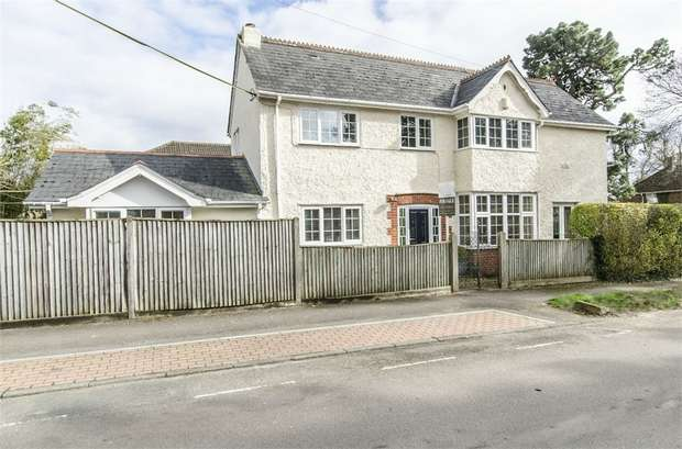 4 Bedrooms Detached House for sale in St Marys Road, Old Bishopstoke, EASTLEIGH, Hampshire