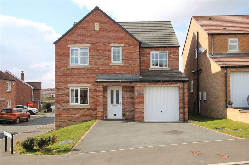 4 Bedrooms Detached House for sale in Redmire Drive, Consett, County Durham, DH8