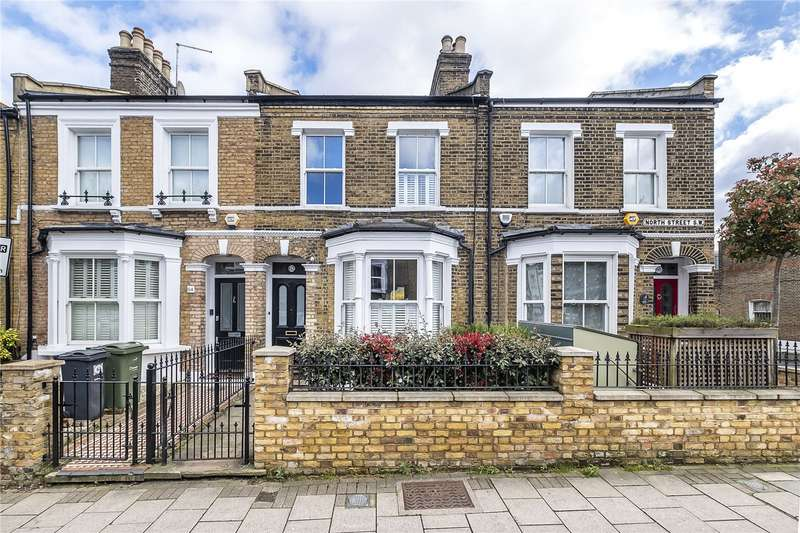 4 Bedrooms Terraced House for sale in North Street, London, SW4