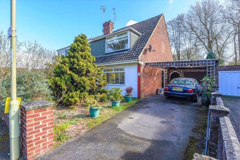 3 Bedrooms Semi Detached House for sale in Mason Road, Farnborough GU14