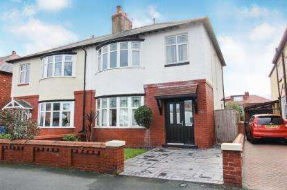 3 Bedrooms Semi Detached House for sale in Hove Road, Lytham St. Annes, Lancashire, FY8