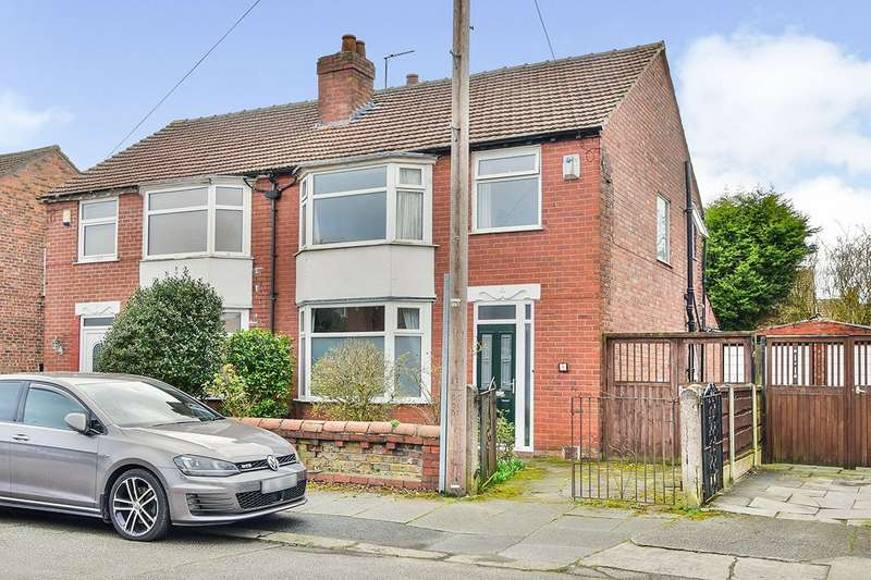 3 Bedrooms Semi Detached House for sale in Gainsborough Avenue, Withington, Greater Manchester, M20