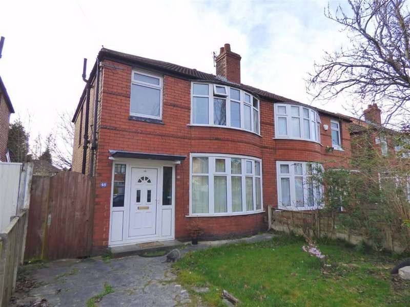 3 Bedrooms Semi Detached House for sale in Ashdene Road, Withington, Manchester, M20